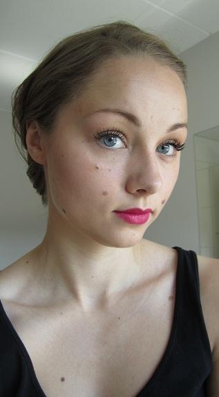 Kesälook 2012 + IsaDora Big Bold Mascara