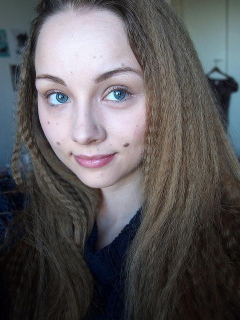 krepatut hiukset