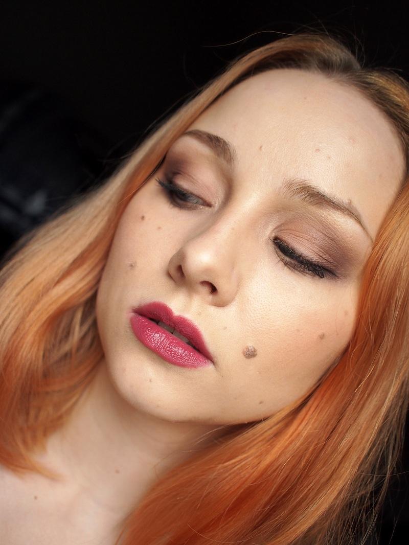 Hiusmoka: ei-toivottu oranssi