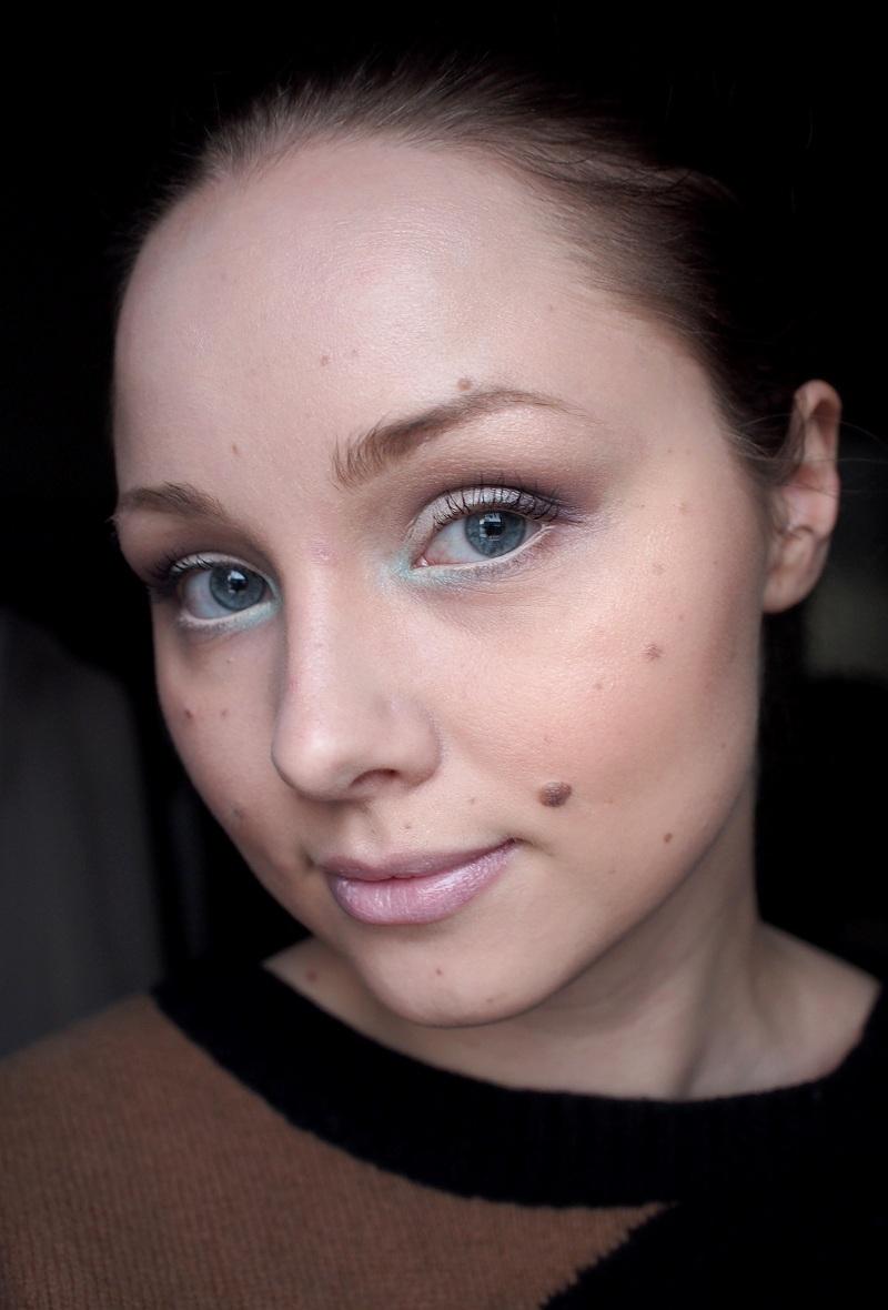 Talvenkirpeä meikki