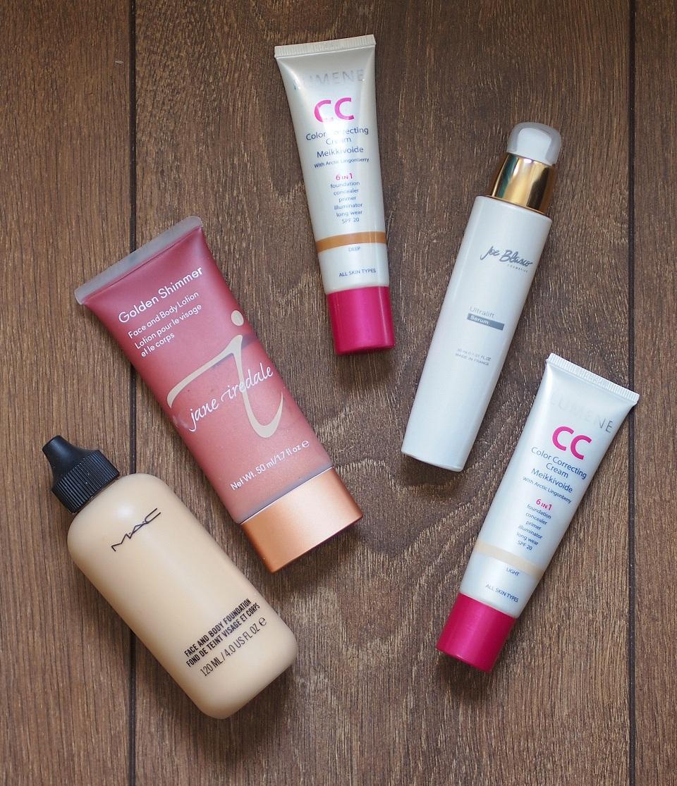 Parhaat blandikset meikkivoiteelle