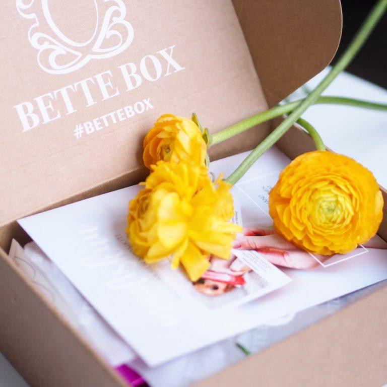 Bette Box maaliskuu – The Bloggaajaboksi!
